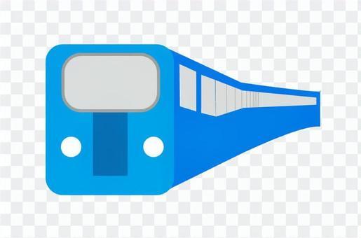 藍色的火車