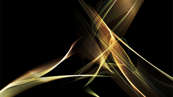 七彩線的抽象設計