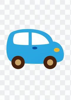 微型车(蓝)
