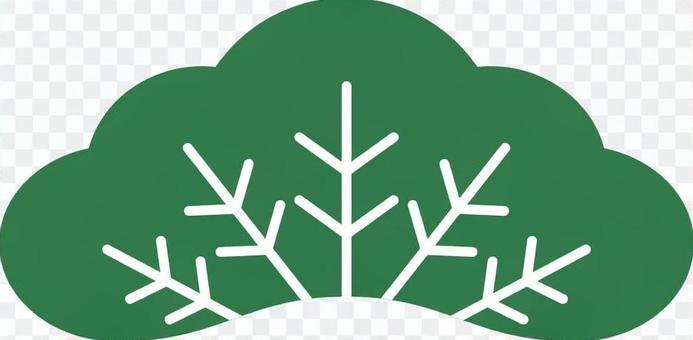 松樹2綠色