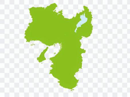 Kansai (2 prefectures except Mie in the Kinki region 4 prefectures)
