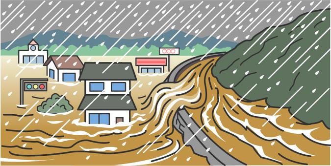 Heavy rains, river flooding, major disasters