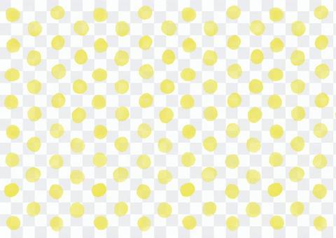 水彩圖片點點背景(黃色)