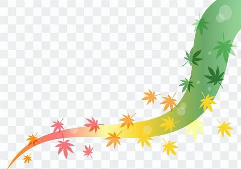 倒下的葉子設計