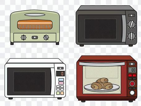 烤麵包機/範圍