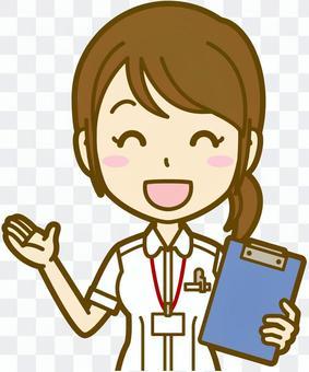女性(看護師):A_笑顔03BS