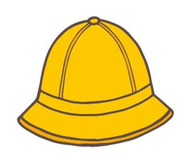 小學黃色校帽