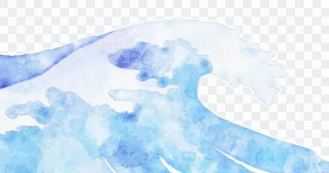 浮世繪的水彩畫