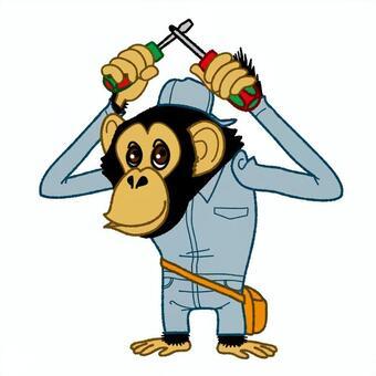 黑猩猩工人