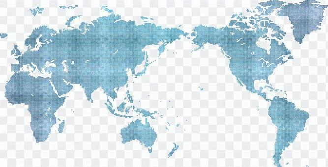 點世界地圖2d