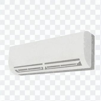 Hand drawn style air conditioner