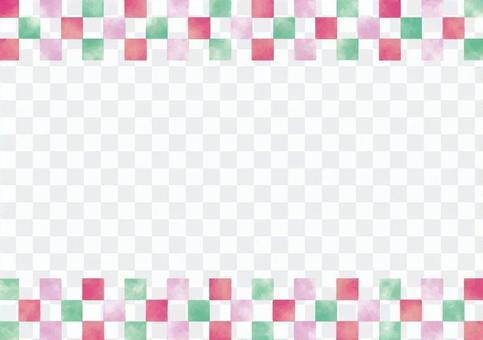 Checkered frame 2