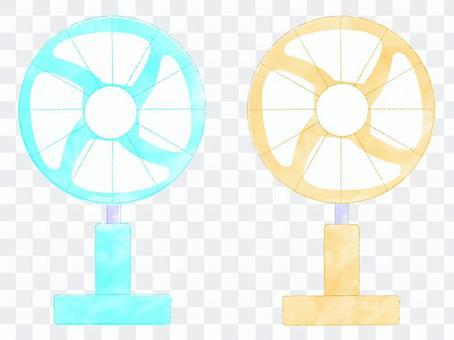 用於電暈措施和節省電費・風扇