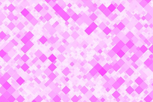 粉色方形幾何背景素材