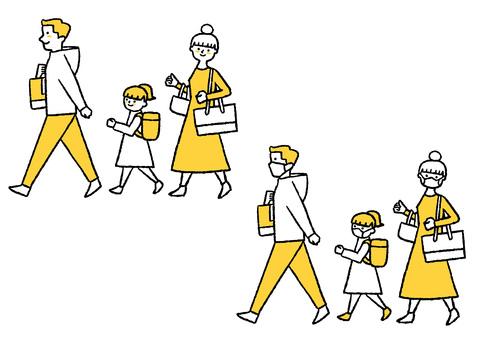 感染防止_家族旅行