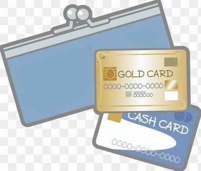 錢包的錢包和卡