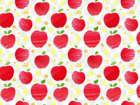 蘋果背景/圖案