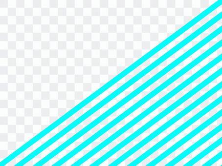 半條紋清除藍色