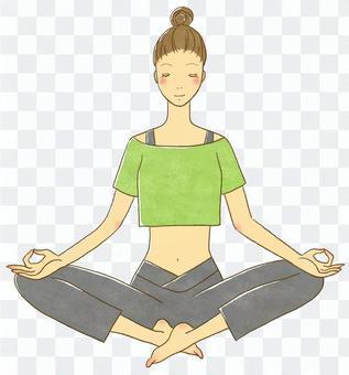 Yoga pose (meditation)