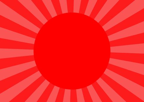 Solar radiation background