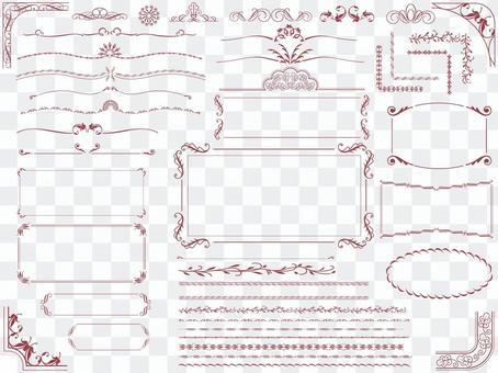各種複古框架1
