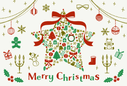 聖誕節/手繪插圖集/明星