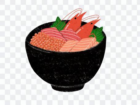 美味的海鮮碗
