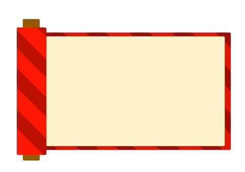 Red roll frame