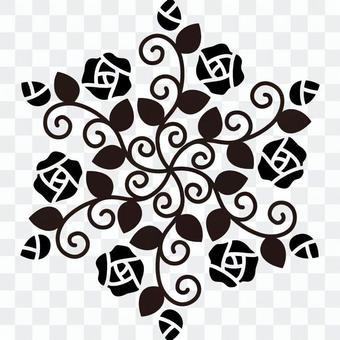 玫瑰六角 - 剪影