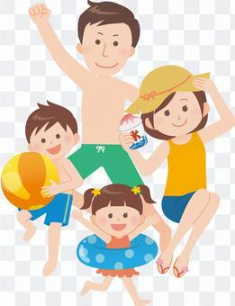家庭(游泳或游泳池)