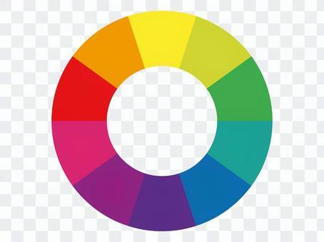 色相環 フレーム