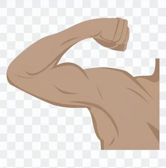 該男子的手臂 - 飲食