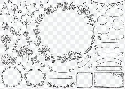手繪框架09春季