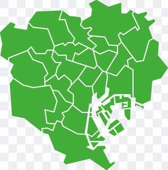 東京23區病地圖