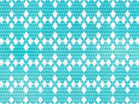 藍色圖像74針亞皆老街圖案背景