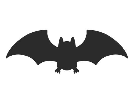 蝙蝠剪影圖標