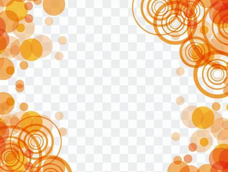 オレンジ壁紙