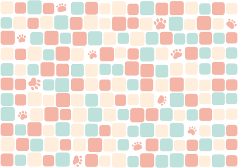 Paw tile background