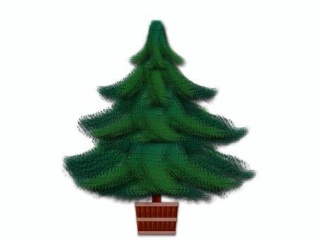 豪华圣诞树