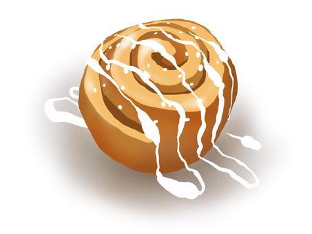 肉桂卷糖霜