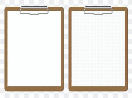 Binders plain / grid paper