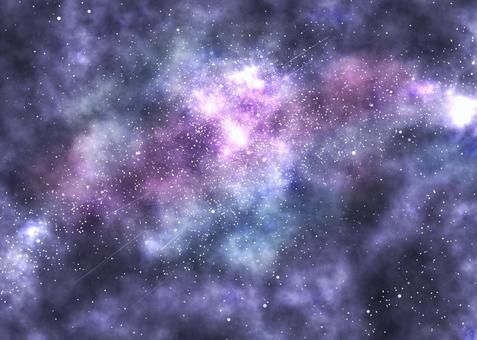 太空星空背景藍色