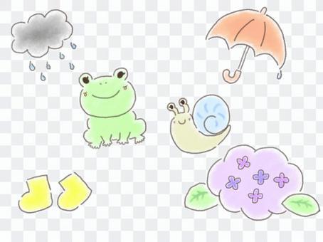 六月雨季①