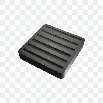 橡膠板(黑色)