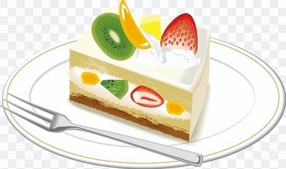 ショートケーキ 苺 フルーツ デザート