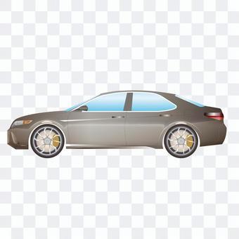 汽車豪華轎車的例證