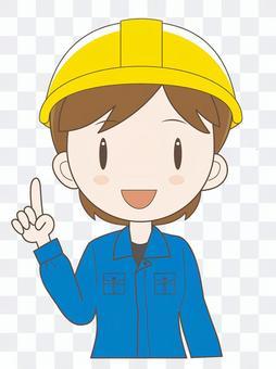 工场女性作业员C