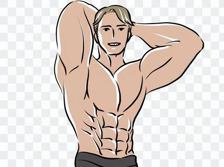 健美訓練肌肉