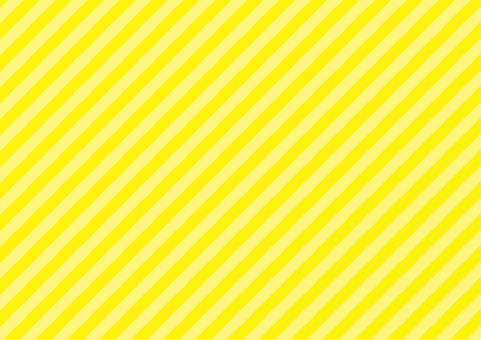 Genki黃色☆對角條紋背景材料