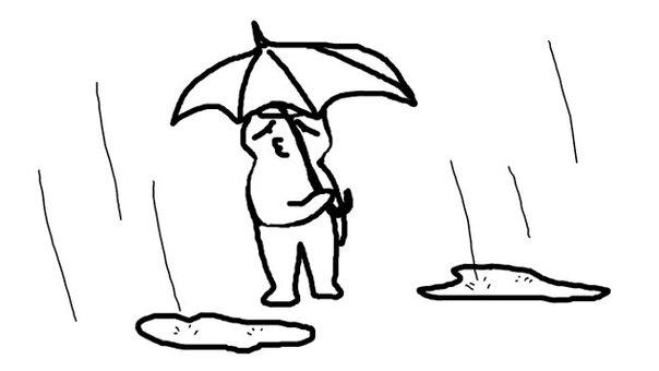 我不想下雨〜